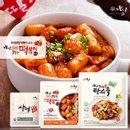 [아딸떡볶이] 밀떡/쌀떡10팩+소스10팩+김말이2팩+어묵2팩 (총24팩)
