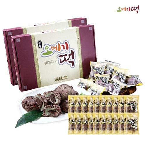 명미당 제주 오메기떡 세트 (20+20+20)