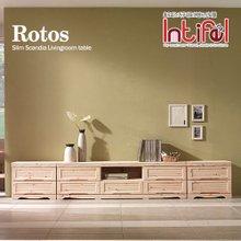 [인티펠] 로토스 원목갤러리 2700 거실장세트 DR063