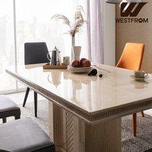 [웨스트프롬] NEW 빈티지 파밀리아) 모자이크 대리석 4인 식탁 (의자제외)
