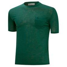[파파브로]남성 여름 국산 라운드 포켓 반팔 티셔츠 MB-OP-HR-802-그린