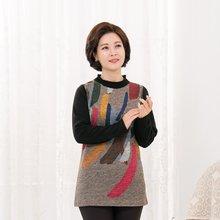 마담4060 엄마옷 포근예술티셔츠-ZTE910111-