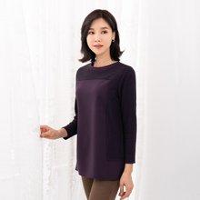 마담4060 엄마옷 기본배색티셔츠 ZTE910141