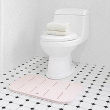 [홈앤하우스] EVA 푹신푹신한 소프트 변기매트(핑크,블루)_욕실매트