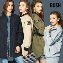 [BUSH] 여성 시티 야상자켓+후드집업