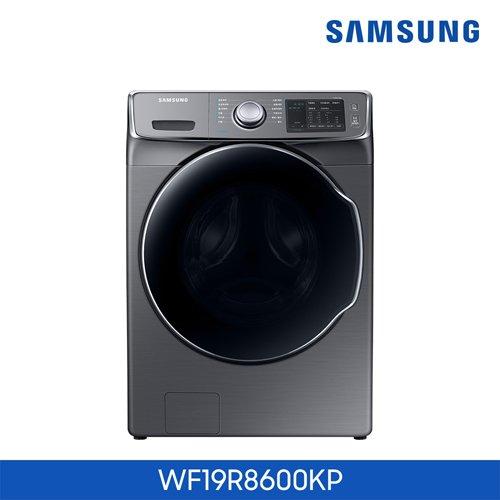 [이녹스 실버] 삼성 버블샷 드럼세탁기 19kg [WF19R8600KP]