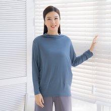 마담4060 엄마옷 찰랑인견반목티셔츠-ZTE002075-