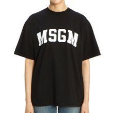[엠에스지엠] 로고 2742MDM162 195797 99 여자 반팔티셔츠