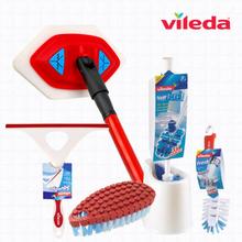 [바이레다] 욕실청소 5종세트(스펀지+변기솔+브러쉬+플렉서블브러쉬+유리닦이)