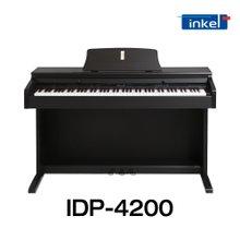 [글로벌뮤직]인켈 디지털피아노 IDP-4200로즈우드/해머건반/88건반/Hi-Fi스테레오/일체형