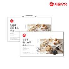 [서울우유] 검은콩귀리호두두유 190mlx40팩 빨대포함