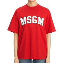 [엠에스지엠] 로고 2742MDM162 195797 18 여자 반팔티셔츠