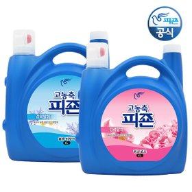 [3배 초고농축!+사은품증정!] 피죤 리치퍼퓸 6Lx2개 초대용량 섬유유연제 /편리한 펌프타입