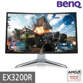 (S)[BenQ] 아이케어 무결점 32형 게이밍 모니터 EX3200R