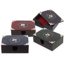 [박씨상방]자개한지 명함(매화팔각)/나전칠기/전통공예품/외국인선물