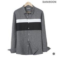 [단군] 포엔절개배색셔츠