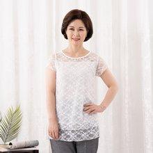 마담4060 엄마옷 시선이가는티셔츠 QTE907064