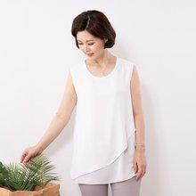 마담4060 엄마옷 라인민소매 QSL907007
