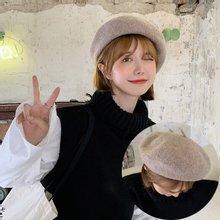 로안 여성 빵모자 화가모자