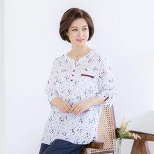 마담4060 엄마옷 내마음별과같이블라우스 QBL905047