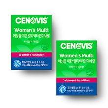 [세노비스] 여성용 멀티비타민미네랄 (60캡슐, 60일분) 2통