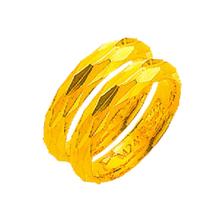 [골드바닷컴]순금다이아조각쌍반지(GLRmrt925/11.25g)