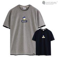 고스트리퍼블릭 아이콘 레이어드 반팔 티셔츠 GT-3125