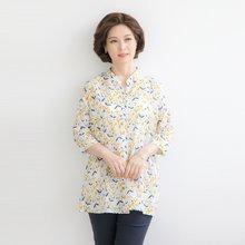마담4060 엄마옷 작은꽃셔츠 QBL906036