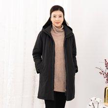 마담4060 엄마옷 베이직후드털점퍼 ZJP912013