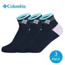컬럼비아 여성 넥라인 배색 발목양말 3P_NY