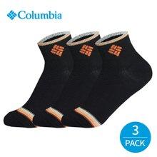 컬럼비아 여성 컬러라인 발목양말 3P_BK