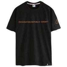 고스트리퍼블릭 스몰 레터링 반팔 티셔츠 GT-352