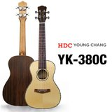 영창 우쿨렐레 YK-380C 탑솔리드 고급우크렐레 콘서트형/ 고급케이스 포함