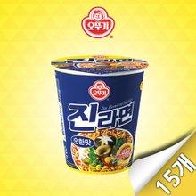 [오뚜기] 진라면 순한맛 미니컵 15입(65g x 15개)