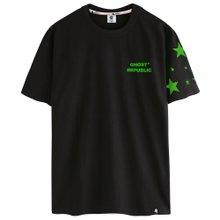 고스트리퍼블릭 슈팅스타 프린팅 반팔 티셔츠 GT-354