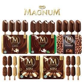 매그넘 아이스크림 24개 (클래식4+민트초코4+더블초코4+미니12)