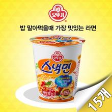 [오뚜기] 스낵면 미니컵 15입(62g x 15개)