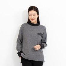 마담4060 엄마옷 포켓기모티셔츠-ZTE912160-