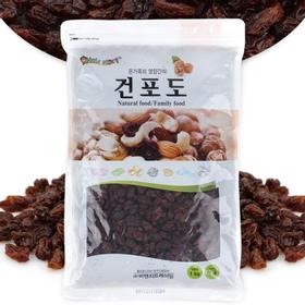 [너츠스토리] 온가족 영양간식 건포도 1kg