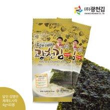 [광천김] 달인 김병만의 광천김 재래도시락김 40봉