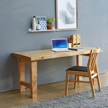 해찬솔 통원목 아트 원목책상 테이블 1600_w700_tr/통원목다리/원목식탁/우드슬랩/카페테이블