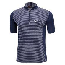남성 국산 여름 스판 등산복 반팔 티셔츠 LM-H-309-01-네이비