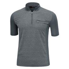 남성 국산 여름 스판 등산복 반팔 티셔츠 LM-H-309-03-그레이