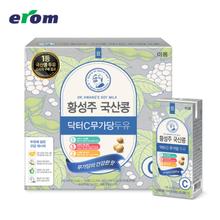 [이롬황성주] 닥터C두유(무가당) 190ml x 64팩