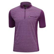 남성 국산 여름 스판 등산복 반팔 티셔츠 LM-H-309-04-퍼플