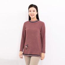 마담4060 엄마옷 따뜻고양이티셔츠-ZTE912121-