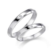 14K 다이아몬드-[타뮤즈] 156-14K W.G 다이아몬드 커플링