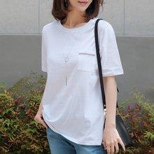 엄마옷 데드라 TBZ3153 몬첼스팽글포켓티셔츠
