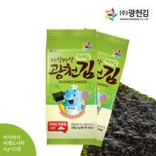 [광천김] 바삭 파래도시락김 4g x 33봉