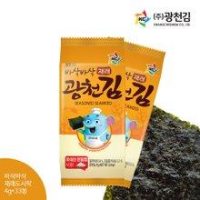 [광천김] 바삭 재래 도시락김 4g x 33봉